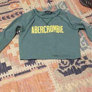 Abercrombie crop sweatshirt XS